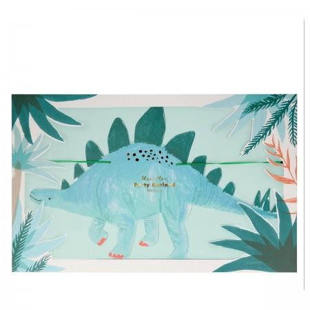 Dinosaurios Guirnalda - 3m.