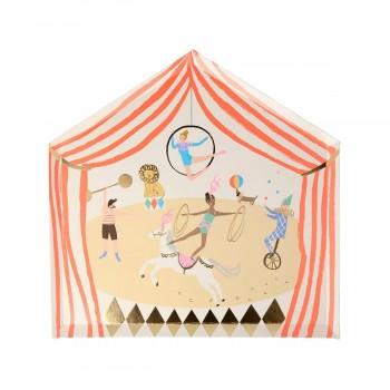 Circus Parade Plates - 8u.