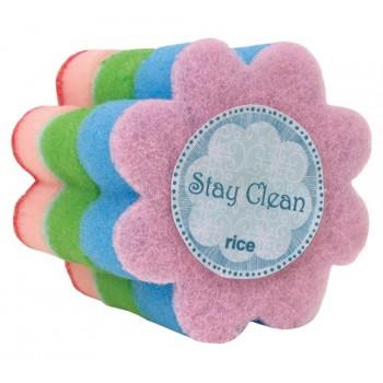 Flor esponja lavaplatos