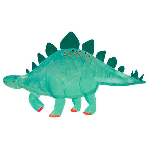 Bandeja dinosaurio Stegosaurus  - 4u.