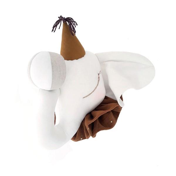Elephant Circus Cream - Mustard Cap