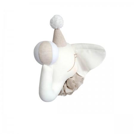 Elefante de Circo Crema - Gorra Beige