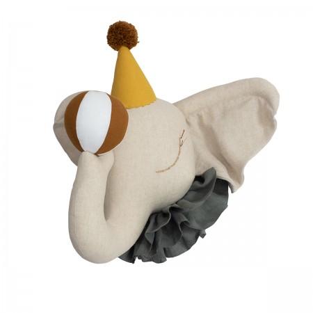 Elefante de Circo - Gorra Amarilla
