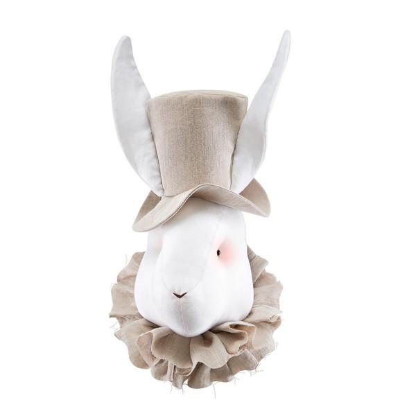 Linen Rabbit - Beige Hat