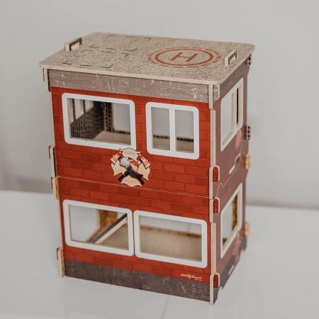 City Fire Brigade - Modular House
