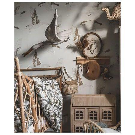 Linen Stork - Pigeon