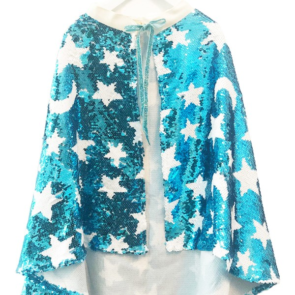 Capa Disfraz Lunares y Estrellas