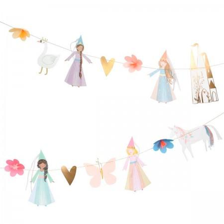 Princess Party Garland - 2.4m