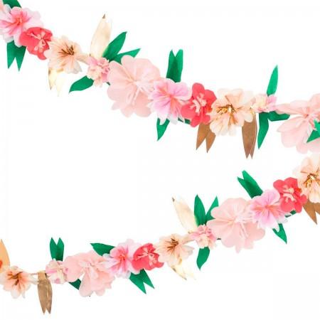 Rose Blossom Garland - 3.4m