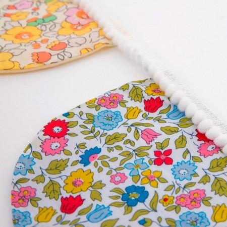 Floral Scallop Fabric Garland - 2.4m