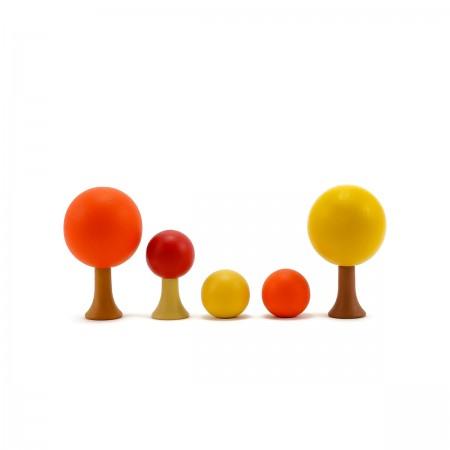 Flora - Autumn wooden toys