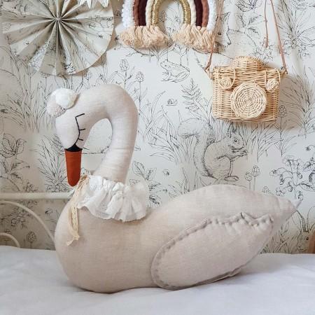 Swan Decorative Cushion