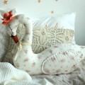Cisne Decorativo - Flores Vintage