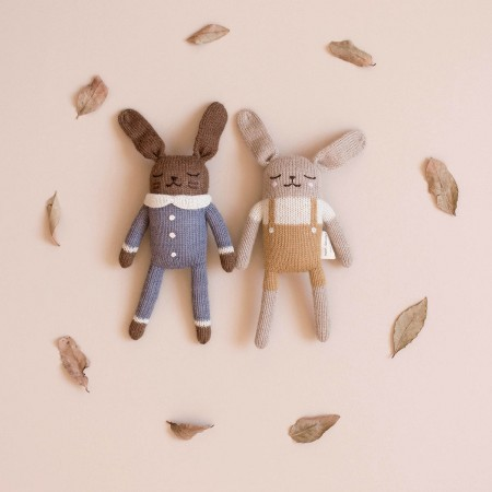 Soft Toy in Jumpsuit - Bunny