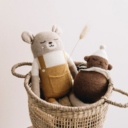 Large Knit Toy - Teddy