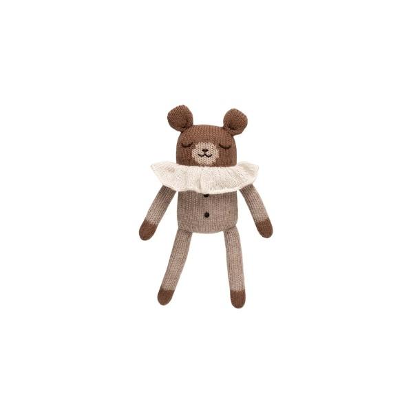 Soft Toy in Oat Pyjamas - Teddy