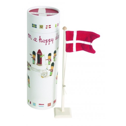 Bandera danesa decorativa