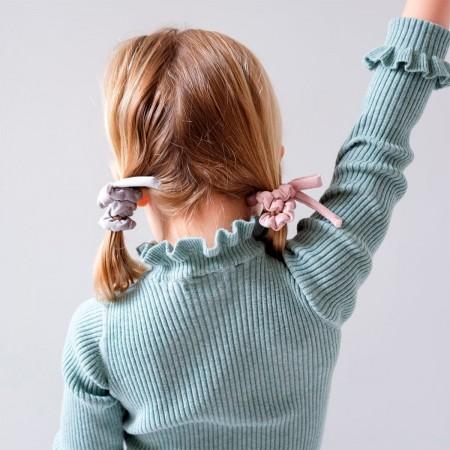 Bow Mini Scrunchies - 4u.