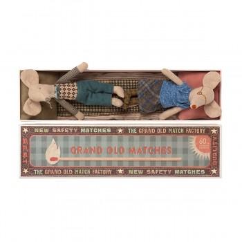 Mice in matchbox - Grandma and Grandpa