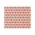 Giftwrap Harlequin Red - 10 m