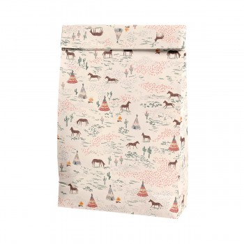 Bolsa de papel Caballos - Grande