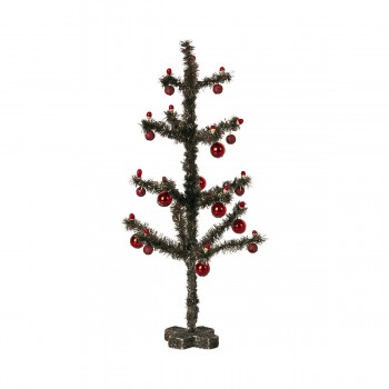 Christmas Tree - Antique Silver