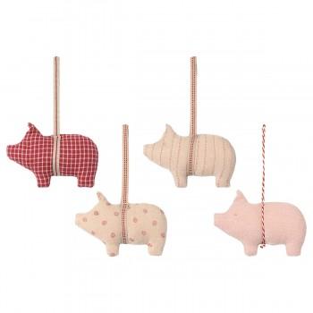 Fabric Ornament - Pig