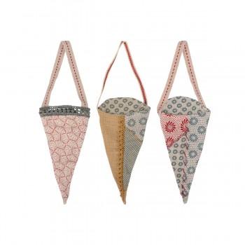 Fabric Ornament - Cornet