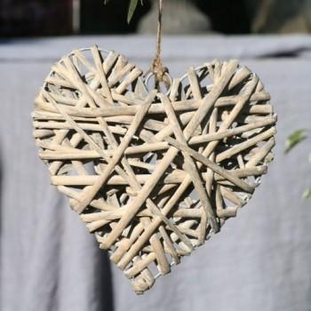 Wooden Heart 20cm