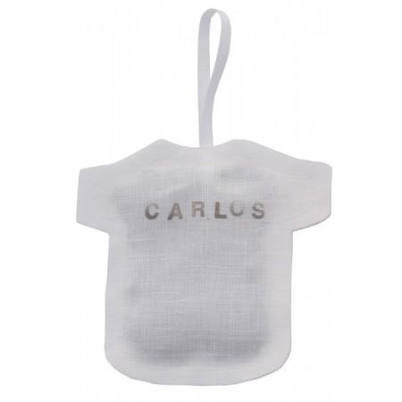 Bolsita silueta lavanda personalizada