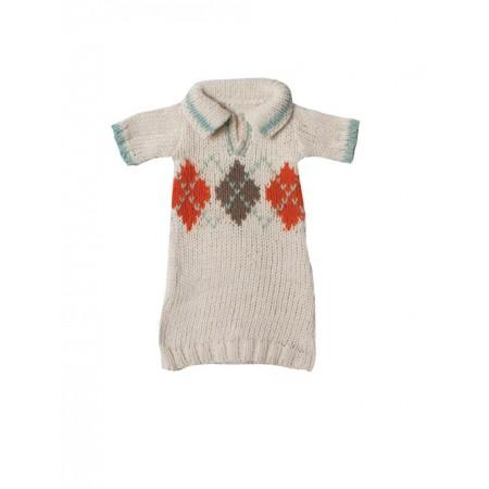Medium, Knitted sweater, orange