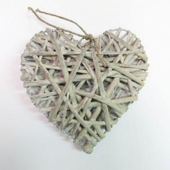 Corazón de madera 40cm