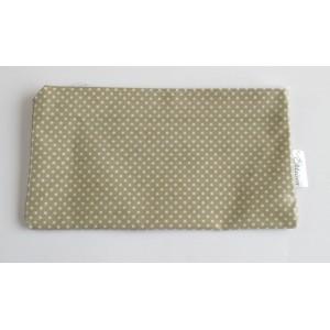 Neceser cosméticos Bag-Dots-Latte