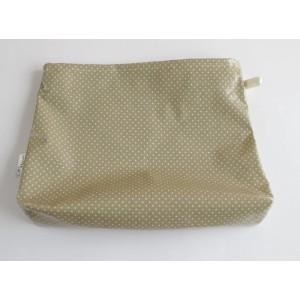 Neceser Bag-Dots-Latte