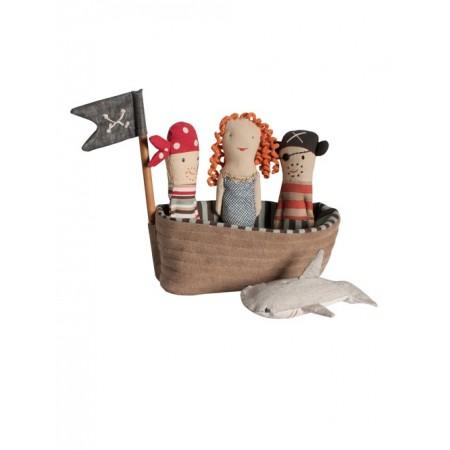 Barco de tela pirata