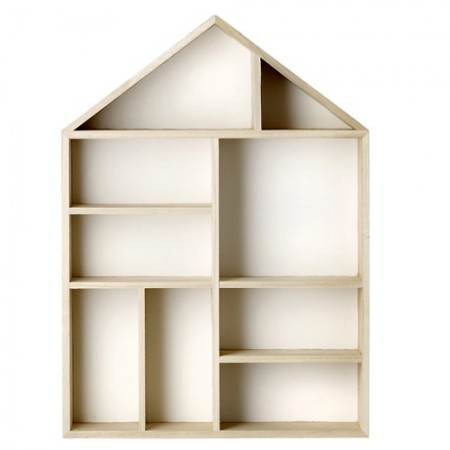 Organizer wooden house