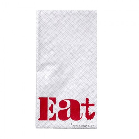 Eat paper napkins