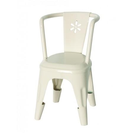 White metal Chair