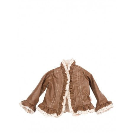 Leather Spring Jacket (Maxi)