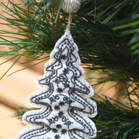 Fabric decoration tree