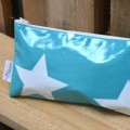 Mint Big Star Cosmetic bag