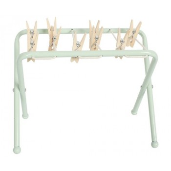 Wooden baby changer