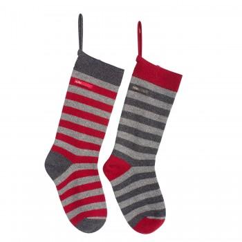Christmas  sock, red