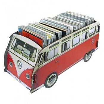 Caja autobús rojo