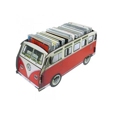 Multibox VW Bus red