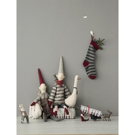 Calcetín Navidad, Gris