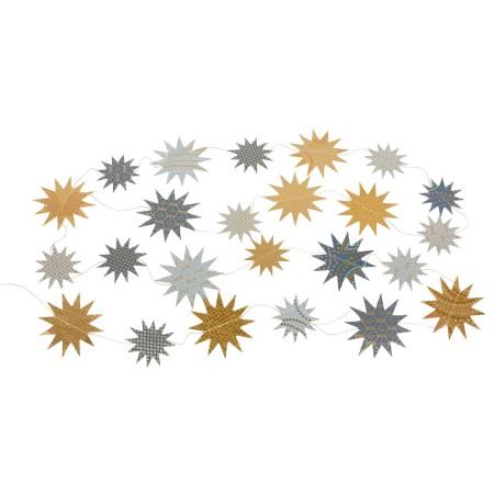 Guirnalda papel de colores