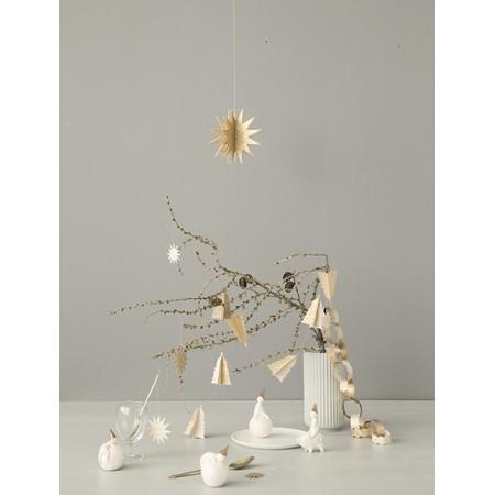 Metal, Goose, gold, Ornament