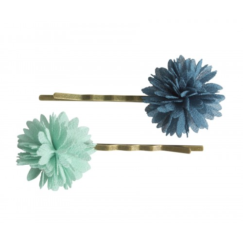 Hair elastics, Fluff flower  (2u.)