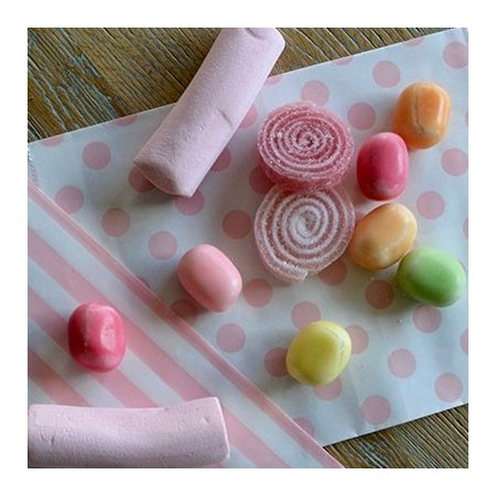 Bolsita papel con dulces personalizada